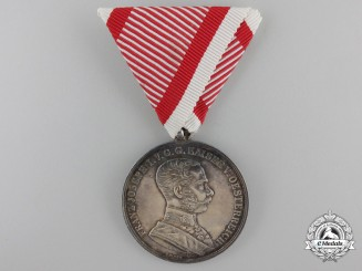 An Austrian Bravery Medal; 1st Class 1914-1916
