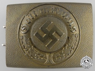 A German Water Protection Police Buckle