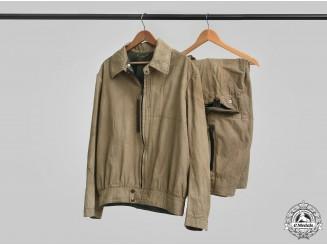 Germany, Luftwaffe. A Two-Piece Channel Flight Suit by Karl Heisler