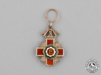 Estonia, Republic. A Miniature Red Cross Decoration