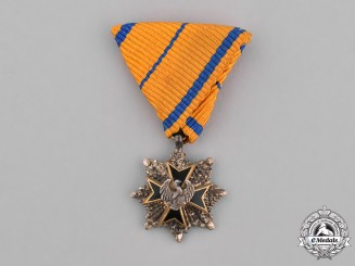 Estonia, Republic. A Miniature Order of the Eagle Cross, Grand Cross Star, c.1940
