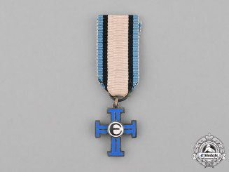 Estonia, Republic. A Miniature Cross of Liberty, II Class, III Grade, c.1930