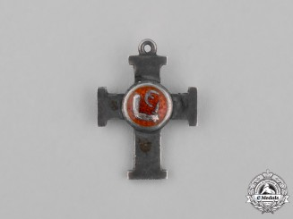 Estonia, Republic. A Miniature Cross of Liberty, III Class, II Grade, c.1920