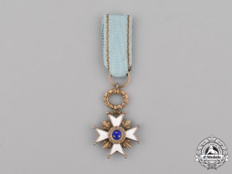 Latvia, Republic. A Miniature Order of the Three Stars, c.1930