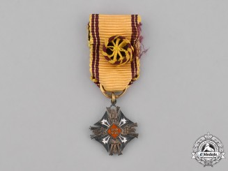Lithuania, Republic. A Miniature Order of Gedimus, IV Class
