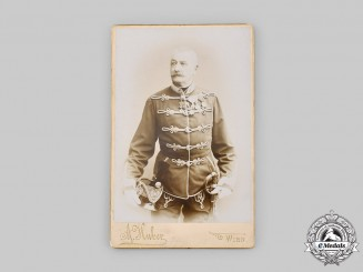 Austria-Hungary, Empire. A Photograph of an Austro-Hungarian Army Officer