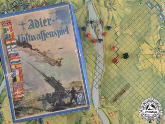 Germany, NSDAP. A Game of Adler-Luftwaffenspiel, with Game Board and Figurines