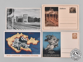 Germany, Third Reich. A Grouping of Third Reich Colour Postcards, c.1939