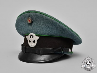 Germany. A Protection Police NCO's Visor Cap, by Abert Kempf