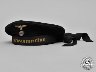 Germany. A Kriegsmarine Sailor's Cap
