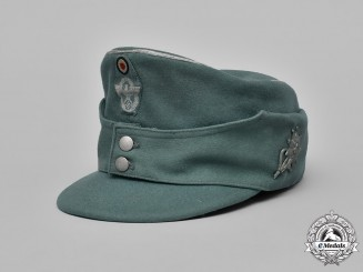 Germany. A Mountain Police Officer's M43 Field Cap