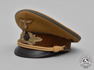 Germany, NSDAP. An NSDAP Ortsleiter Level Visor Cap