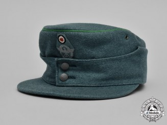 Germany, Third Reich. A Schutzpolizei M-43 Field Cap, by Clemens Wagner