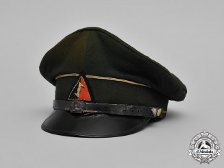 Netherlands, NSB. A National Socialsit Movement in the Netherlands NCO's Visor Cap