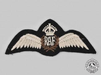 United Kingdom. A Second War Royal Air Force (RAF) Pilot Badge