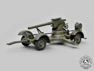 Germany, Wehrmacht. An 8.8 cm Flak 36 Scale Model, by Hausser-Elastolin