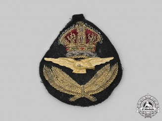 Canada, Commonwealth. A Second War Royal Canadian Air Force (RCAF) Officer's Cap Badge