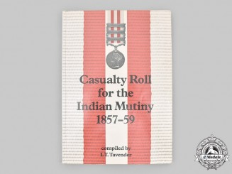 United Kingdom. Casualty Roll for the Indian Mutiny 1857-59