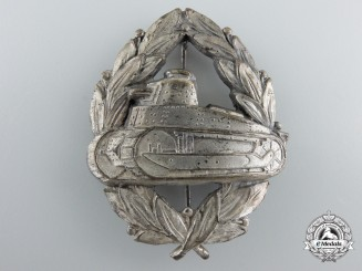 A  Rare Second War Romanian Tank Crew Badge