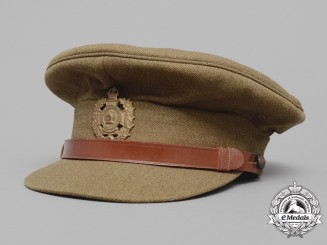 A Second War Hastings & Prince Edward Regiment Officer's Visor Cap