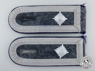 A Pair of Luftwaffe Medical Feldwebel's Shoulder Boards