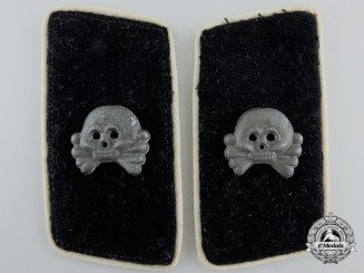A Pair of Herman Goring Division Panzer Collar Tabs