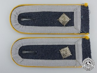 A Pair of Luftwaffe Flight/Paratrooper Feldwebel's Shoulder Boards