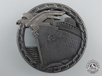 A Kriegsmarine Blockade Runner Badge by Schwerin, Berlin
