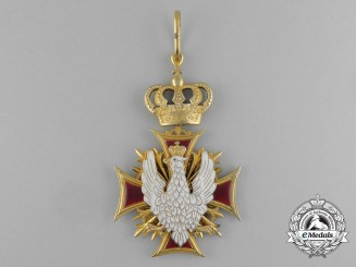 A Rare Polish Ecclesiastical Order of White Eagle