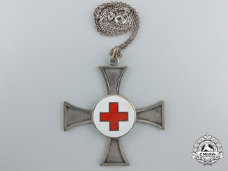A Second War German Red Cross (DRK) Sister Cross; First Model