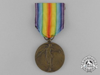 A Belgian First War Victory Medal