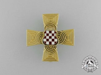 A Croatian War Memorial Cross 1992-1995