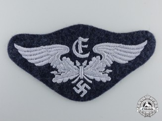 A Luftwaffe Rangefinder (Entfernungsmesser) Specialist Qualification Arm Badge