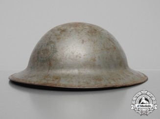 A First War Mark II CEF Royal Canadian Regiment Helmet