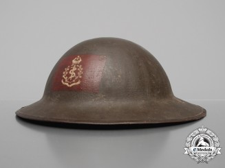 A First War Mark II Canadian Army Medical Corps Medic's Helmet