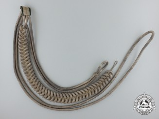 A German Army Officer's Dress Parade Uniform Aiguillette