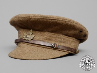 A First War Canadian Trench Cap 1918 to the 52nd Infantry Battalion