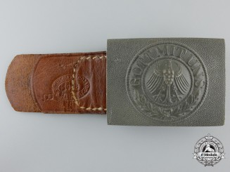 "A Weimar Republic Era Army Belt Buckle by ""Schmoller & Co. Menden 1928"