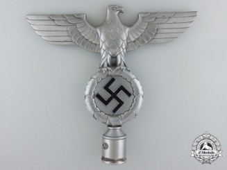 An NSDAP Second Pattern Flag Pole Top by Otto Gahr