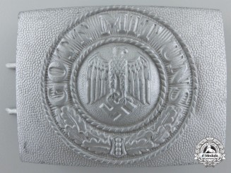 An Unusual Army Belt Buckle by Berg & Nolte ag Lüdenscheid
