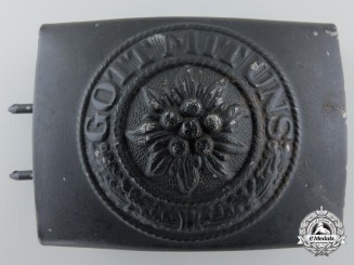 A Post War Converted Neutral Buckle; Published Example
