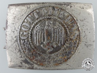 An Army Belt Buckle by Christian Th. Dicke Co., Lüdenscheid 1943
