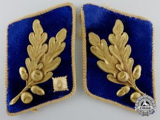 A Pair of SA-Brigadeführer SA Gruppe Oberrhein Collar Tabs