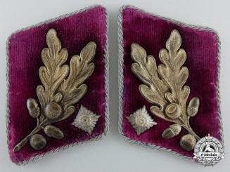 A Pair of SA-Brigadeführer SA Gruppe Westfalen Collar Tabs