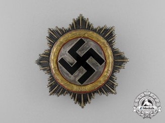 A German Cross in Gold by Fritz Zimmermann of Stuttgart; Light Version