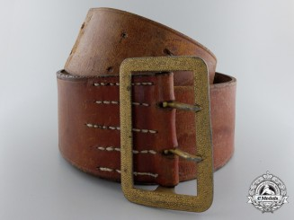An NSDAP Belt with Buckle