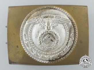 An SA Enlisted Belt Buckle by Linden & Funke