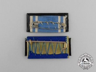 Two Imperial German Long Reserve Military Service Bars