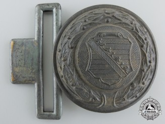 A German Province Saxony 1930's Firefighter's Officer's Buckle