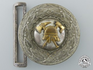 A German pre-1934 Fire Defense Officer's Buckle